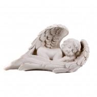 Статуэтка садовая Ангелочек спящий 28х14 см