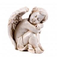 Статуэтка садовая Ангелочки 9х11см