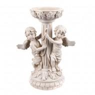 Статуэтка садовая Ангелочки с колонной 23х44 см