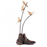 Статуэтка Птицы на ветке 17х11х37 см