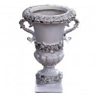 Ваза напольная декоративная в форме кубка 37х32х50 см