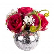 Композиция Букет алых роз