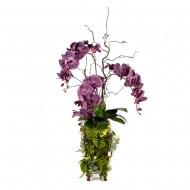 Композиция Орхидея в металле