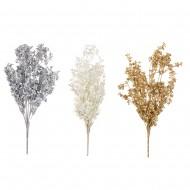 Цветок искусственный Колос блеск 25 см