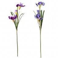 Цветок искусственный  Ирис 95 см