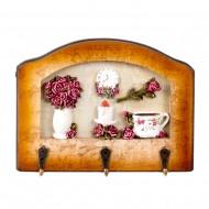 Вешалка настенная декоративная 20х15,5 см