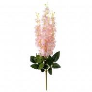 Цветок искусственный Глициния розовая букет 38 см