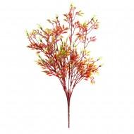Зелень искусственная красная  36 см