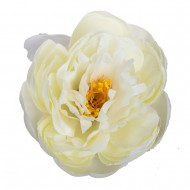 Искусственная головка Пиона  «кремового цвета»  11 см