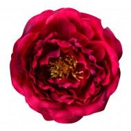Искусственная головка Пиона  «темно-красного цвета»  11 см