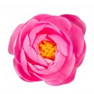 Искусственная головка розы «розовая»