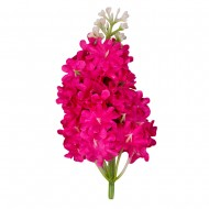 Искусственная головка Черёмухи  «темно-розовая»  10 см