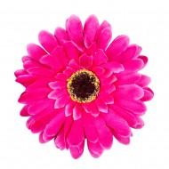 Искусственная головка Герберы «темно-розовая» 10 см