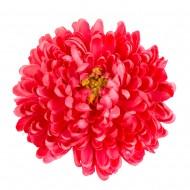 Искусственная головка Хризантемы «темно-красная» 18 см