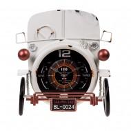 Часы металлические ретро автомобиль 33х34х13 см