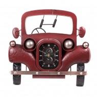Часы металлические ретро автомобиль 39х35 см