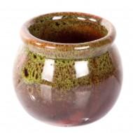 Ваза-горшочек зеленый 5х5 см