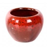 Ваза-горшочек красный 5х6 см