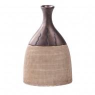 Ваза декоративная в форме бутылке 27х16х8 см