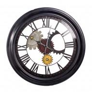 Часы настенные металлические 63х63 см