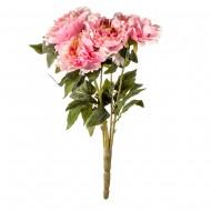 Букет из искусственных розовых Пионов 52 см