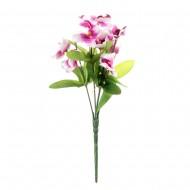 Букет из искусственных светло пурпурных Орхидей 26 см