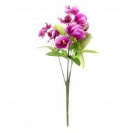 Букет из искусственных пурпурных Орхидей 26 см