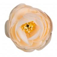 Искусственная головка розы «белая» 4,5 см