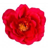 Искусственная головка розы «красная» 4,5 см