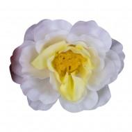 Искусственная головка розы «белая» 5 см