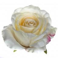 Искусственная головка розы «цвета шампань» 10 см