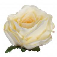 Искусственная головка розы «цвета шампань»   10,5 см