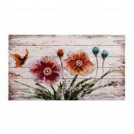 Панно  Цветы 54х90 см