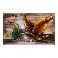 Панно Бабочки 54х90 см