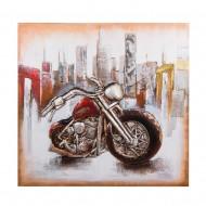 Панно Мотоцикл 100х100 см