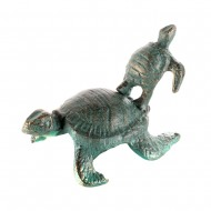 Интерьерное украшение Черепахи 11х7,5х8,5 см