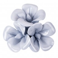 Цветок декоративный  керамический 7х7х4 см