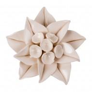 Цветок декоративный  керамический 8х8х2,5 см