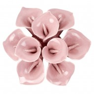 Цветок декоративный  керамический 10х10х3 см