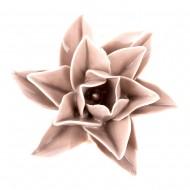 Цветок декоративный  керамический  7х7х3 см