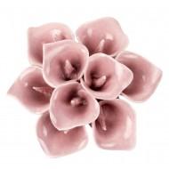 Цветок декоративный  керамический 7х7х2 см