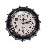Настенные часы в форме крышки от бутылки 22х4х22 см
