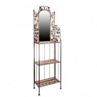 Зеркало напольное с полочками 185х50х21 см