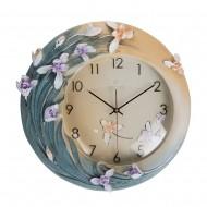Часы настенные Цветы 42х41х1 см