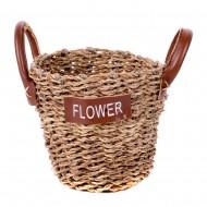 Корзина плетеная Flower 13х10,5 см