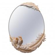 Зеркало настенное с птицами 67х49,5х9,5 см