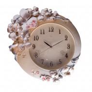 Часы настенные Цветы 53х43 см