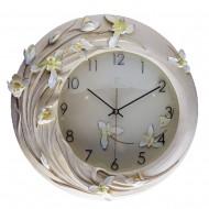 Часы настенные  Цветы 42х41 см