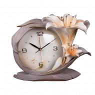 Часы настольные Лилии 36х29 см