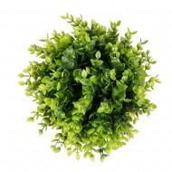 """Искусственная зелень в форме шара """"зеленая"""" 20 см"""